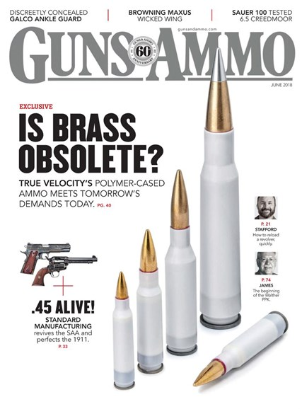 Guns & Ammo Cover - 6/1/2018