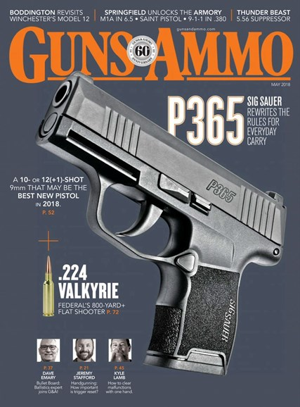 Guns & Ammo Cover - 5/1/2018