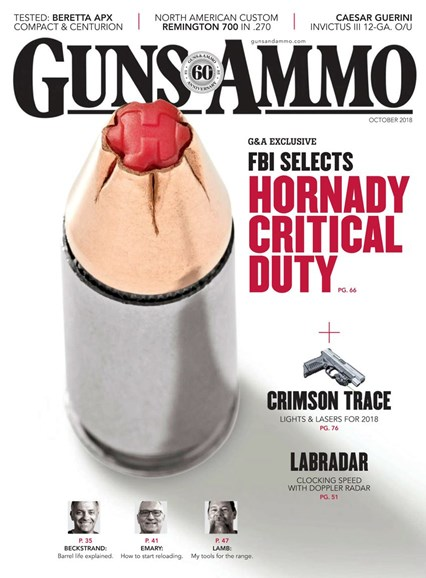 Guns & Ammo Cover - 10/1/2018