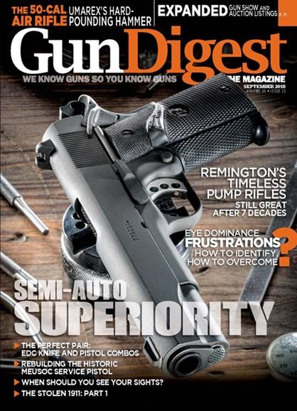 Gun Digest Cover - 9/1/2018