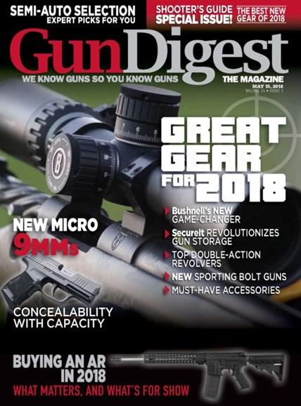 Gun Digest Cover - 5/15/2018