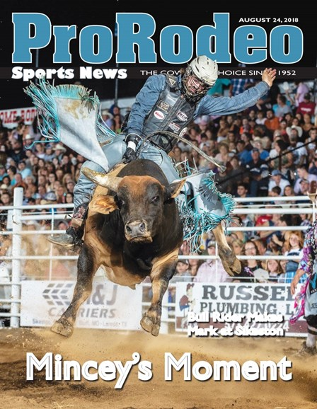 Pro Rodeo Sports News Cover - 8/24/2018