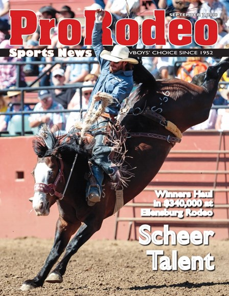 Pro Rodeo Sports News Cover - 9/7/2018