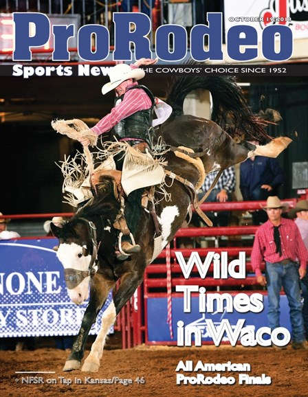 Pro Rodeo Sports News Cover - 10/19/2018