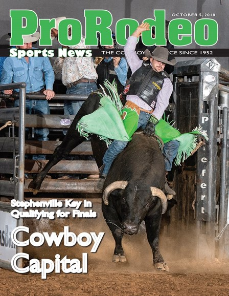 Pro Rodeo Sports News Cover - 10/5/2018