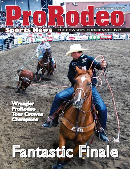 Pro Rodeo Sports News Cover - 9/21/2018