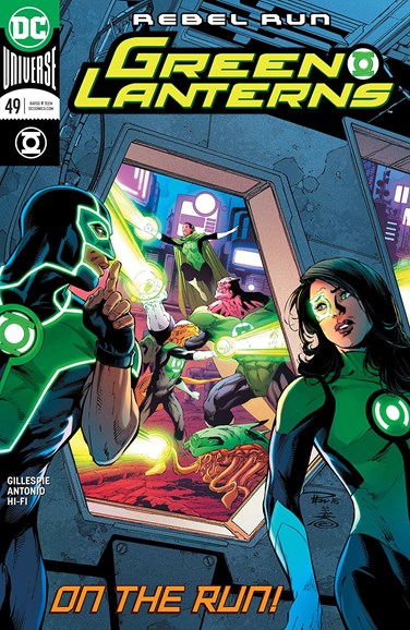 Green Lanterns Cover - 8/15/2018