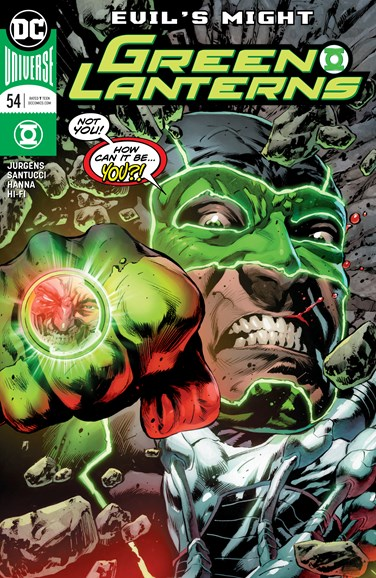 Green Lanterns Cover - 11/1/2018