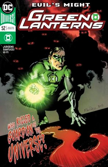 Green Lanterns Cover - 10/1/2018