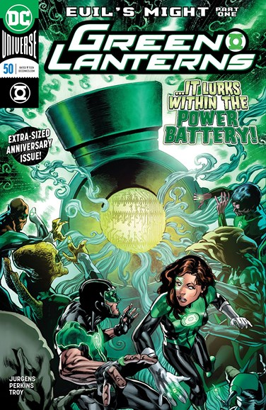 Green Lanterns Cover - 9/1/2018