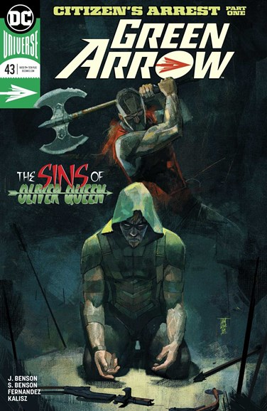 Green Arrow Cover - 10/1/2018