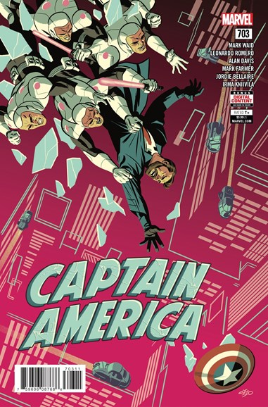 Captain America Cover - 8/1/2018