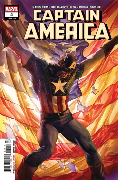 Captain America Cover - 12/1/2018