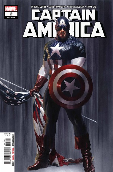 Captain America Cover - 10/1/2018