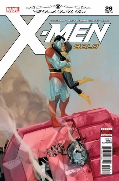 X-Men Gold Cover - 8/1/2018