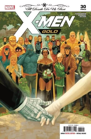 X-Men Gold Cover - 8/15/2018