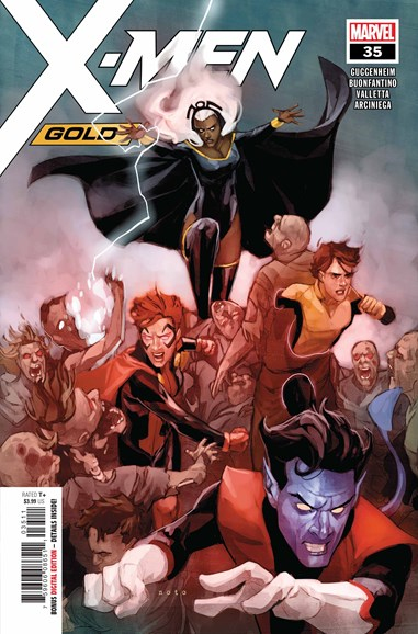 X-Men Gold Cover - 11/1/2018