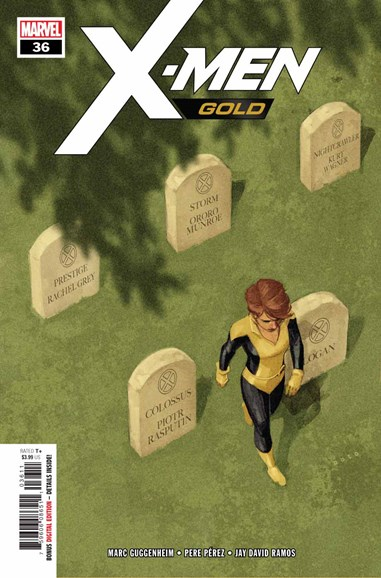 X-Men Gold Cover - 11/15/2018