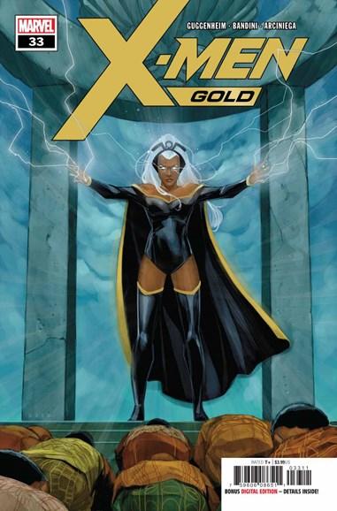 X-Men Gold Cover - 10/1/2018
