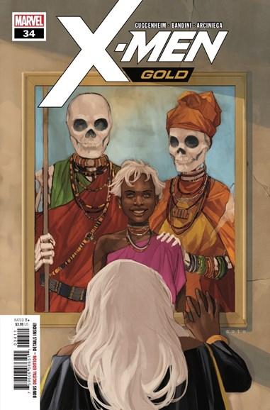 X-Men Gold Cover - 10/15/2018