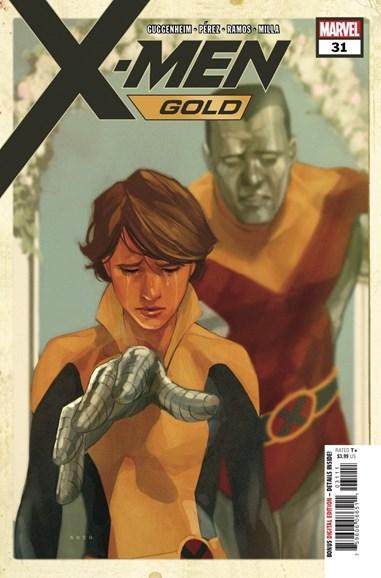 X-Men Gold Cover - 9/1/2018