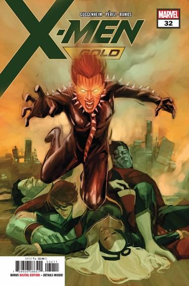 X-Men Gold Cover - 9/15/2018
