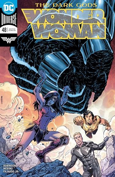 Wonder Woman Cover - 8/1/2018