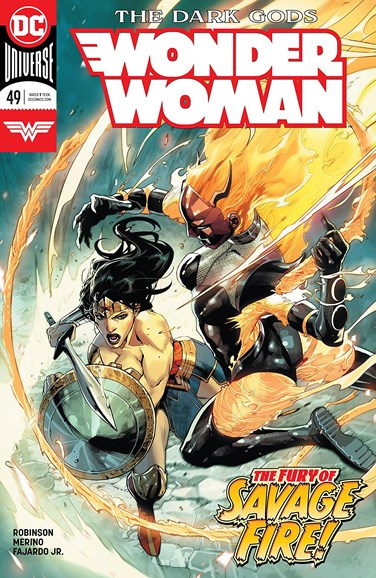 Wonder Woman Cover - 8/15/2018
