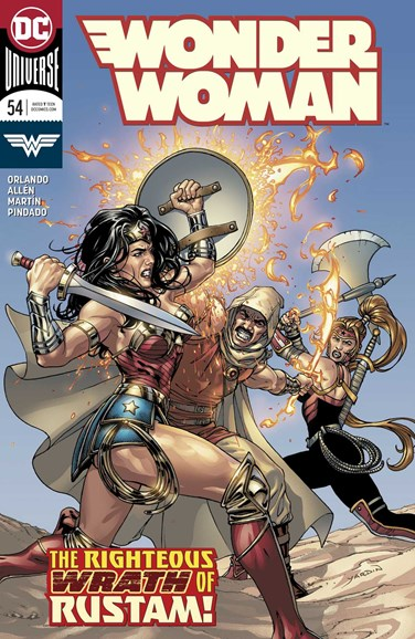 Wonder Woman Cover - 11/1/2018