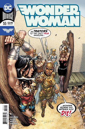 Wonder Woman Comic | 11/15/2018 Cover