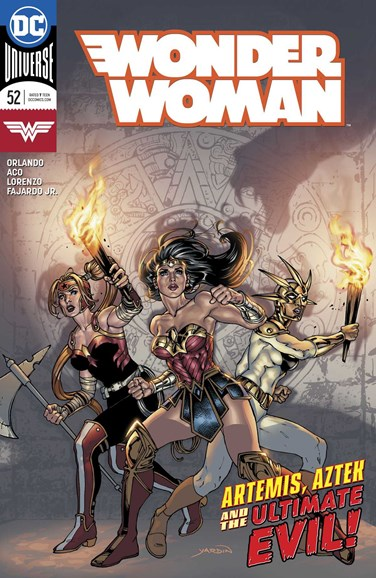 Wonder Woman Cover - 10/1/2018