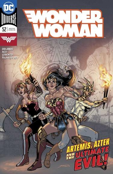 Wonder Woman Cover - 10/1/2018