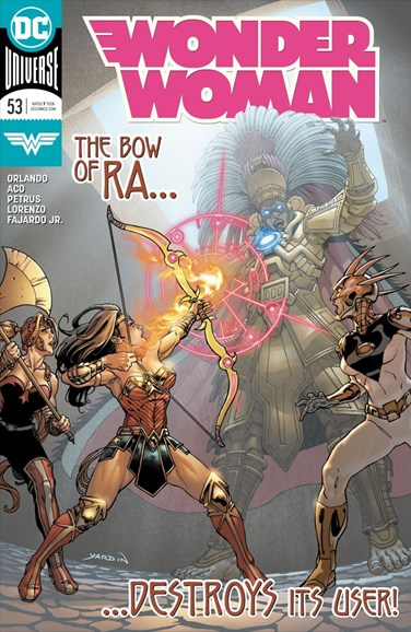 Wonder Woman Cover - 10/15/2018