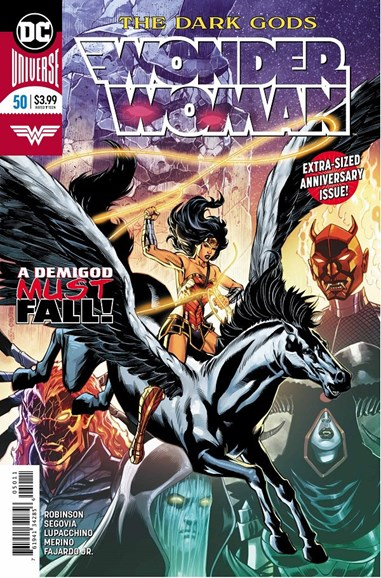 Wonder Woman Cover - 9/1/2018