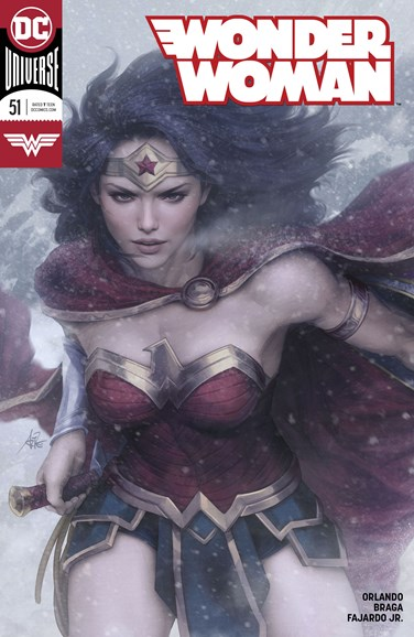 Wonder Woman Cover - 9/15/2018