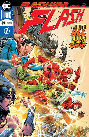 The Flash Cover - 8/15/2018