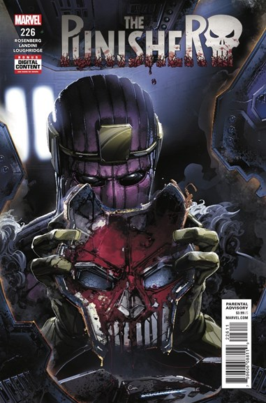 The Punisher Cover - 8/1/2018