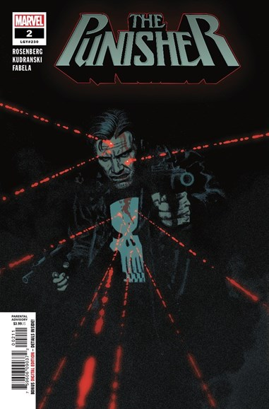 The Punisher Cover - 11/1/2018
