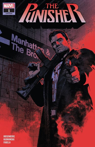 The Punisher Cover - 10/1/2018