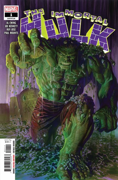 Immortal Hulk Cover - 8/1/2018