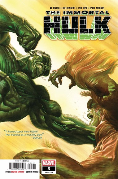 Immortal Hulk Cover - 11/1/2018