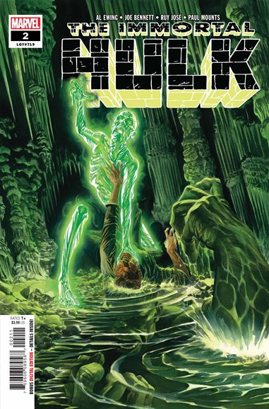 Immortal Hulk Cover - 9/1/2018