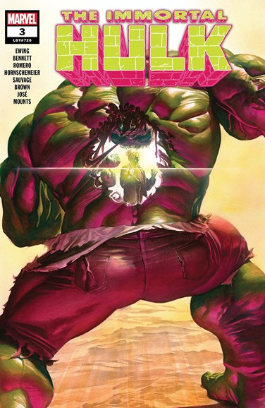 Immortal Hulk Cover - 9/15/2018