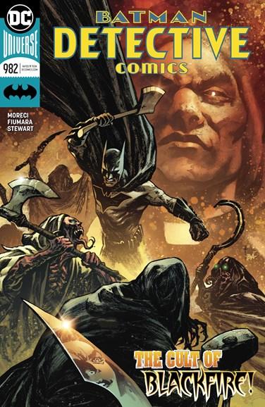 Detective Comics Cover - 8/1/2018