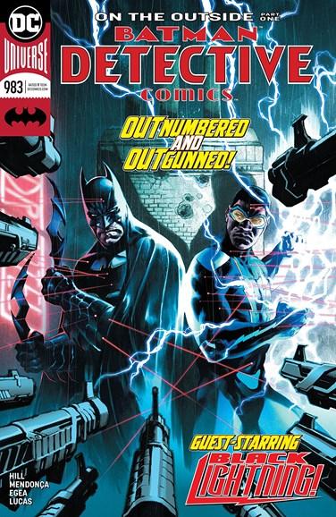 Detective Comics Cover - 8/15/2018