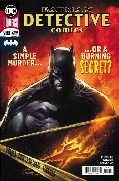 Detective Comics Cover - 11/1/2018