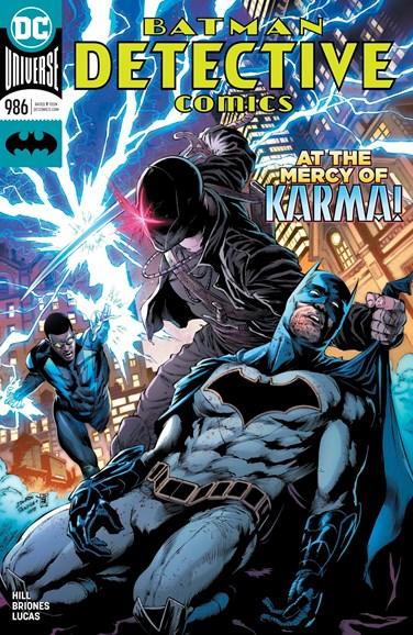 Detective Comics Cover - 10/1/2018