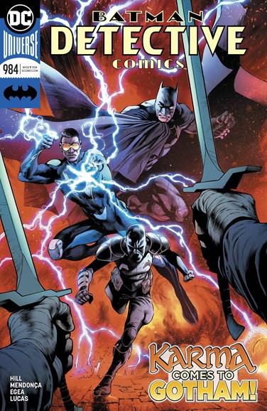 Detective Comics Cover - 9/1/2018