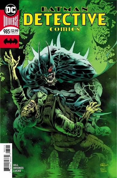 Detective Comics Cover - 9/15/2018