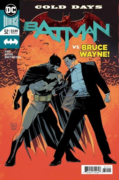 Batman Cover - 10/1/2018